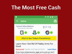 Adme - Lockscreen Cash Rewards 1.5.8 Screenshot