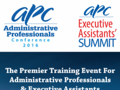 Admin Professionals Conference 4.27 Screenshot