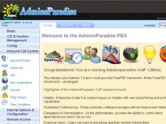 AdminsParadise Voip PBX Phone and FAX System 1.0 Screenshot