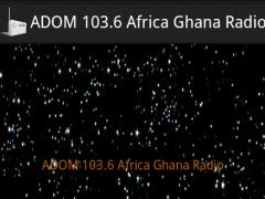 ADOM 103.6 Africa Ghana Radio 1.1 Screenshot