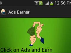 Ads Earner - Earn by ad clicks 2.0 Screenshot