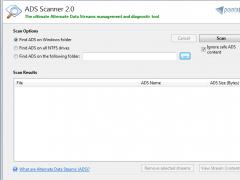 ADS Scanner 2.01 Screenshot