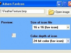 Adsen FavIcon 1.26 Screenshot