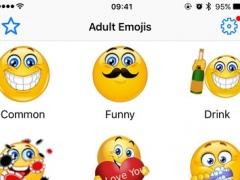 Adult Emoji Flirty Emoticons Naughty Icons Sticker 1.0 Screenshot