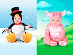 Adults & Baby Photo Montage  Screenshot