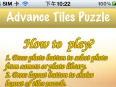Advance Tiles Puzzle Lite 1.0.1 Screenshot