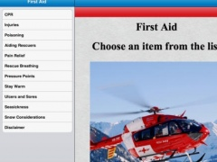 Advanced 1st Aid HD 1.0 Screenshot