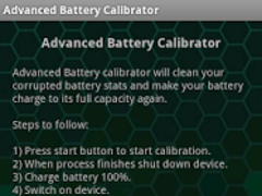 Advanced Battery Calibrator 2.02 Screenshot