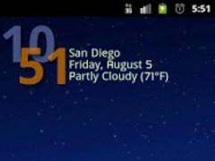 Advanced Clock Widget Pro 0.762 Screenshot