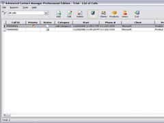 Advanced Contact Manager Personal 2.52.114 Screenshot