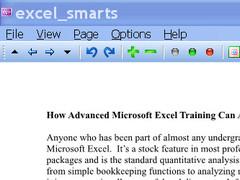 Advanced Excel Training 1.0 Screenshot