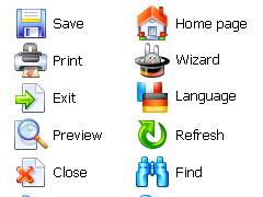 Advanced Icon Set 1.0 Screenshot