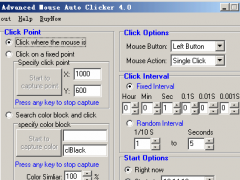 Advanced Mouse Auto Clicker 4.1.8 Screenshot