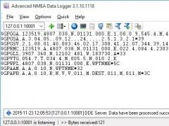 Advanced NMEA Data Logger 3.2.7.927 Screenshot