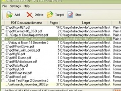 Advanced PDF to TEXT converter 1.9.1 Screenshot