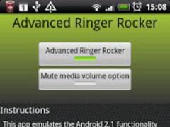 Advanced Ringer Rocker 1.2.6 Screenshot