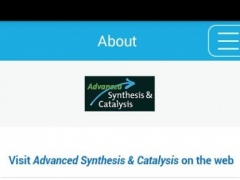 Advanced Synthesis & Catalysis 1.0.2132 Screenshot