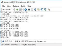 Advanced TCP IP Data Logger 4.3.6.1109 Screenshot
