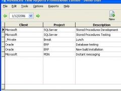 Advanced Time Reports Professional 8.3.145 Screenshot