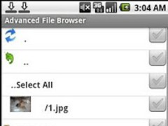 AdvancedFileBrowser 2 Screenshot