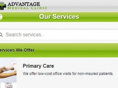 Advantage Medical Clinic 2.0 Screenshot