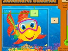 Adventures Undersea Math - Multiplication Free Lite 7.1 Screenshot