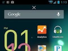 ADW Theme - FLAT ICONS 2.11 Screenshot