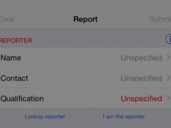 AE Reporter 1.0.0 Screenshot