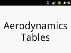 Aerodynamics Table 1.0 Screenshot