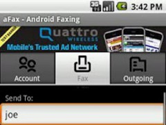 aFax 1.0 Screenshot