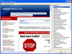 Affiliate Submitter 2.3 Screenshot