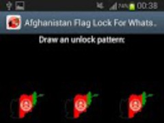 Afghanistan Flag Lock WhatsApp 1.0 Screenshot