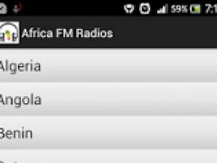 Africa FM Radios 2.0 Screenshot