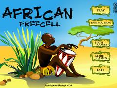 African Freecell 1.0 Screenshot