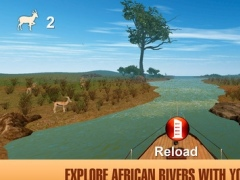 African Safari: Boat Hunting 3D 1.0 Screenshot