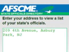 AFSCME 1.0 Screenshot