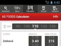AG FOODS Vending Calculator 1.0 Screenshot