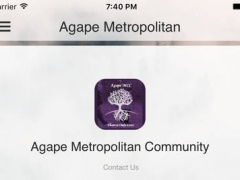 Agape Metropolitan CC 1.0 Screenshot