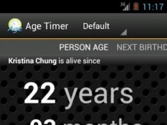 Age Timer 1.2 Screenshot