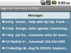 Agenda Messenger 1.0 Screenshot