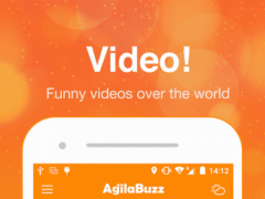 AgilaBuzz - News/Video/Media 1.2.6 Screenshot