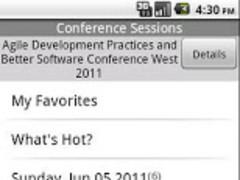 Agile Development Practices an 1.0 Screenshot