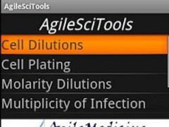 AgileSciTools 1.5.0 Screenshot
