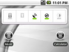 aHome Theme: Flow (Black) 1.4 Screenshot