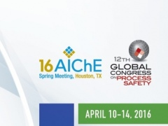 AIChE 16 Spring Meeting & GCPS 1.3 Screenshot