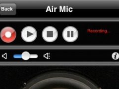 Air Mic Live Audio for iPhone/iPod Touch (Windows Version) 1.1 Screenshot