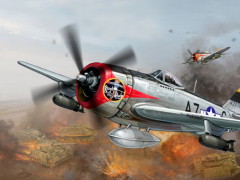 Air Thunder: Bomber Pacific HD 1.1 Screenshot