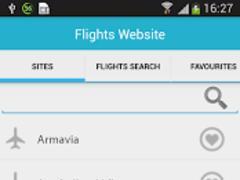Airline Search 1.0.1 Screenshot