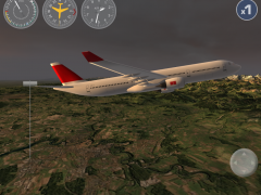 Airplane Fly the Swiss Alps 1.4 Screenshot