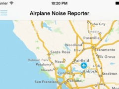 Airplane Noise Reporter 1.8.1 Screenshot